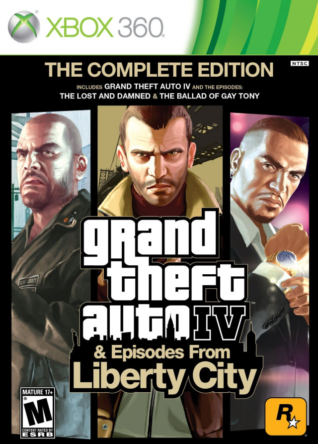 Grand Theft Auto IV: The Complete Edition Xb360