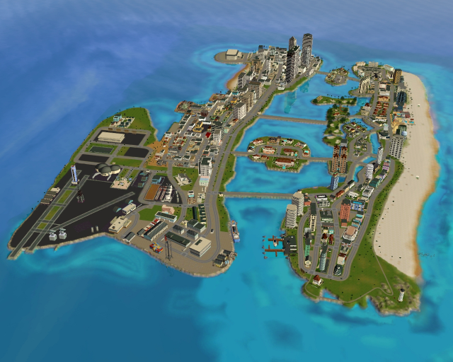 GTA Vice City in The Sims 3