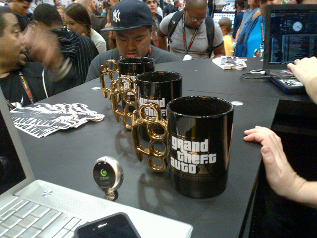 GTA III 10th Anniversary Mugs