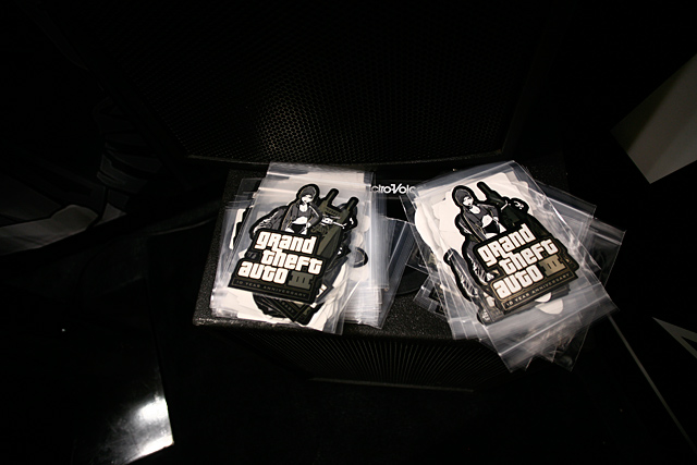 GTA III 10th Anniversary Sticker Packs