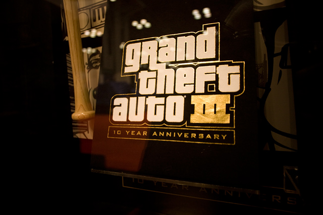GTA III 10th Anniversary T-shirt