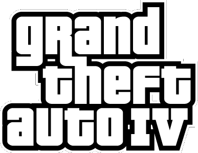 The original GTA 4 logo.