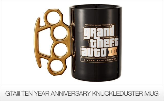 GTA III Knuckleduster Mug