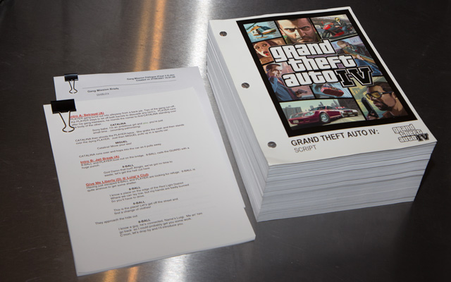 GTA III and GTA IV script comparison