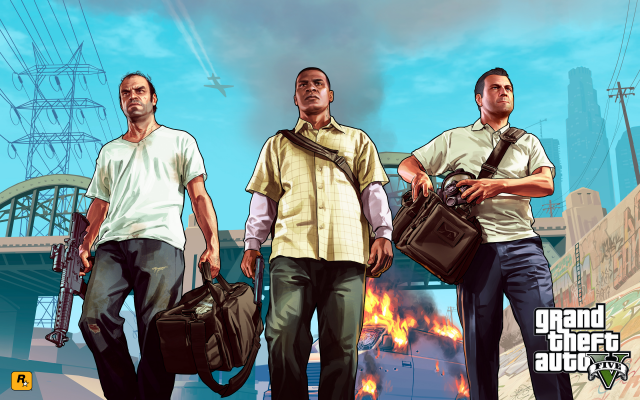 Trevor, Franklin & Michael