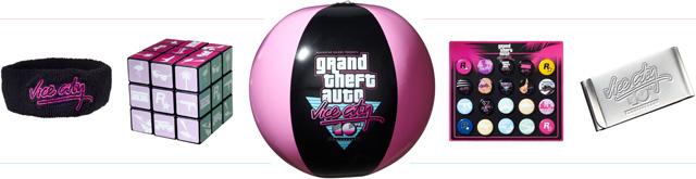 Vice City 10th Anniversary Collectibles