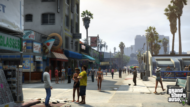 Grab a Sludgie and take in some Vespucci sun