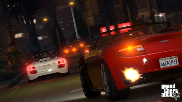 Midnight street chase