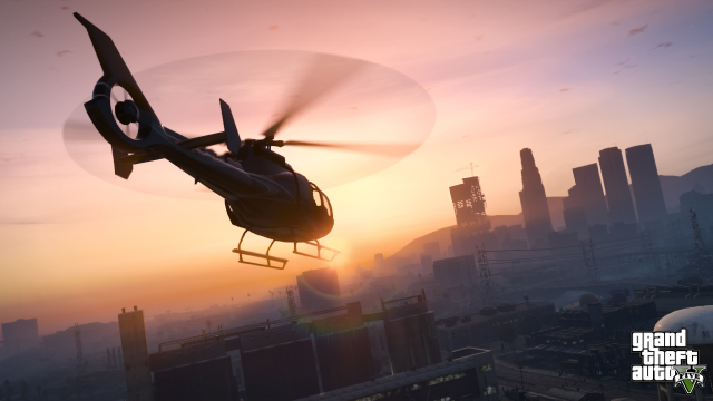 Onward towards Downtown Los Santos