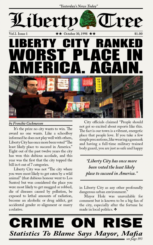 Liberty City Stories Manual Cover