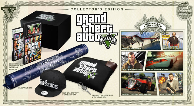 GTA V Collector's Edition Preview