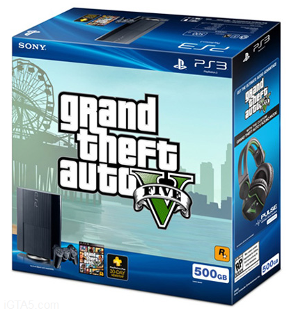 GTA V and PS3 Bundle Package