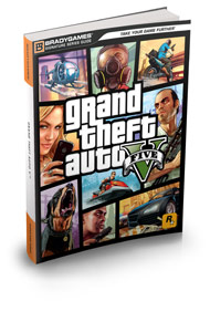 GTA 5 Strategy Guide from Brady Games