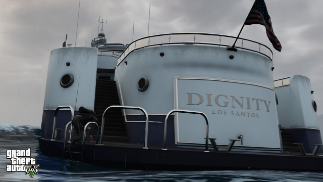 Dignity - the bigger the yacht, the more you have