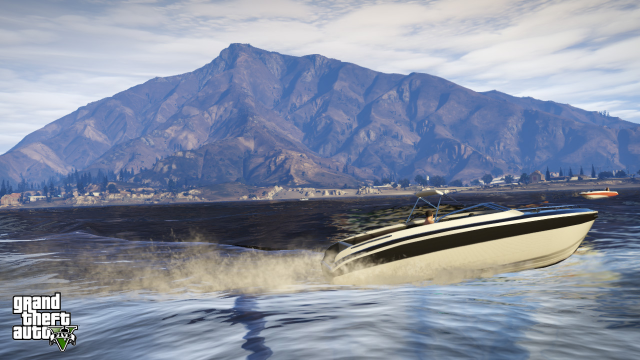 Nice day for a boat ride in Blaine County