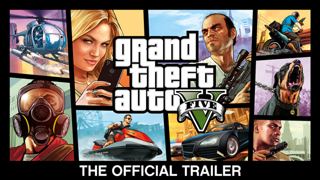 GTA V Official Trailer Artwork