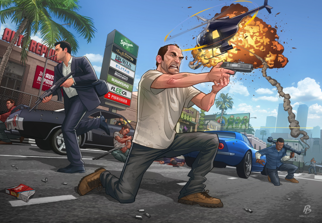 Patrick Brown's GTA V - Launch Piece