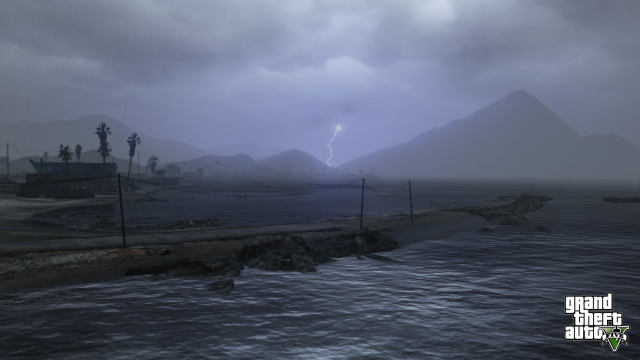 Storm's a-brewin' in Blaine County