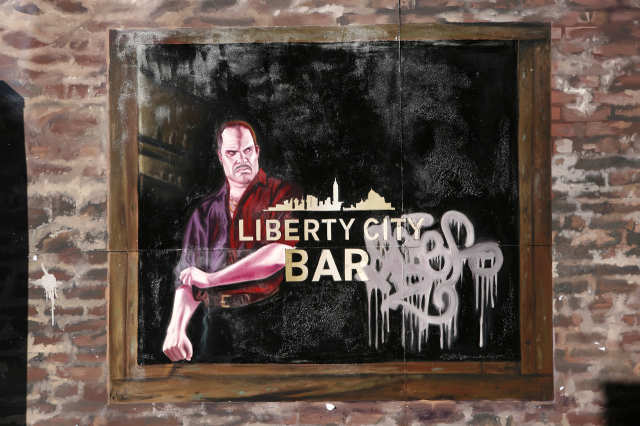 Bouncer at the Liberty City Bar.