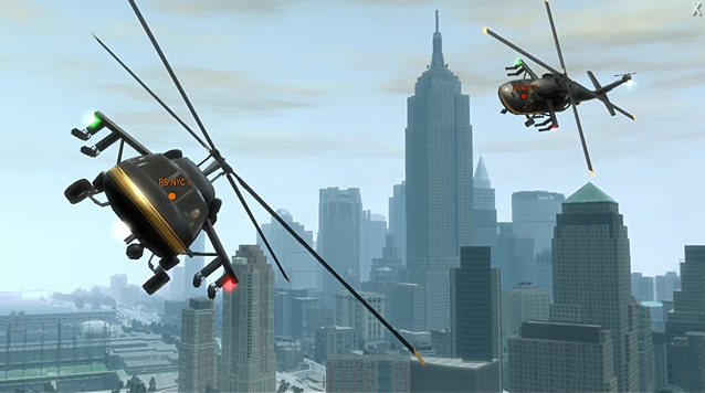 Helicopter races