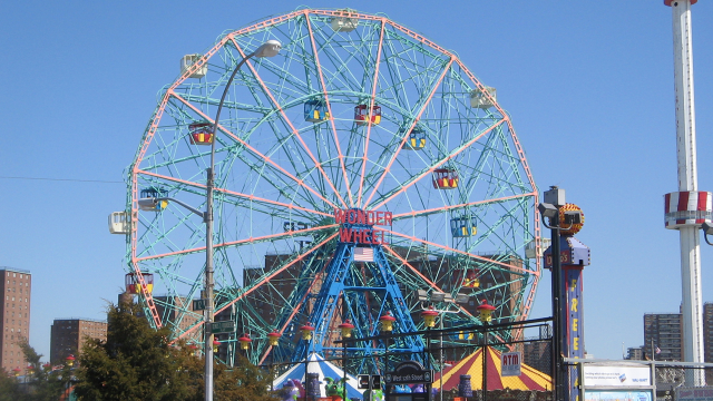 The Wonder Wheel.