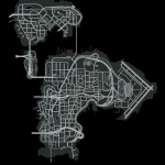 GTA IV Broker & Dukes & Bohan Map